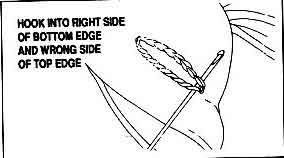 вяжем щечки зайчика, вязанного крючком