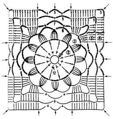 вязание крючком кружево модели и схемы